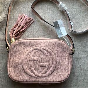 New Gucci Leather Soho Disco Bag